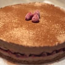 Entremet chocolat & framboise