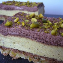 Royal pistache & chocolat