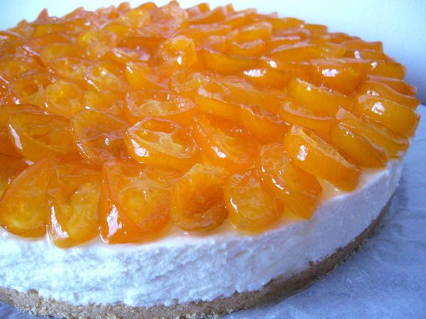 Cheesecake citron kumquat