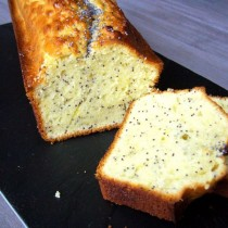 Cake citron & pavot