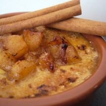 Crème brûlée pomme & cannelle