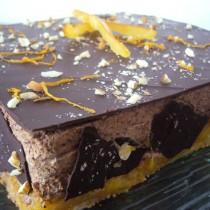 Entremet chocolat & orange